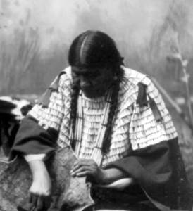 old native woman