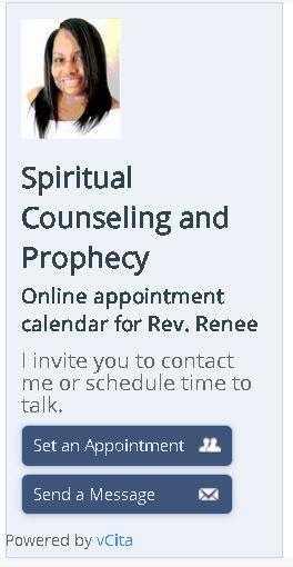 Christian Spiritual Counseling Rev Renee